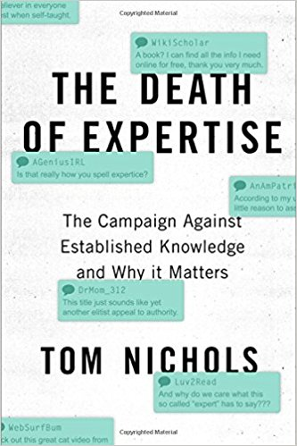 Livre-Death of Expertise