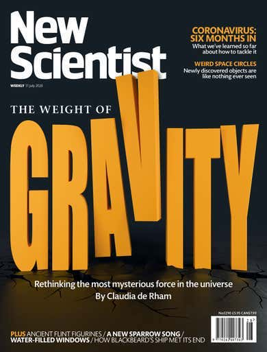 Couverture du new Scientist, 11 juillet 2020
