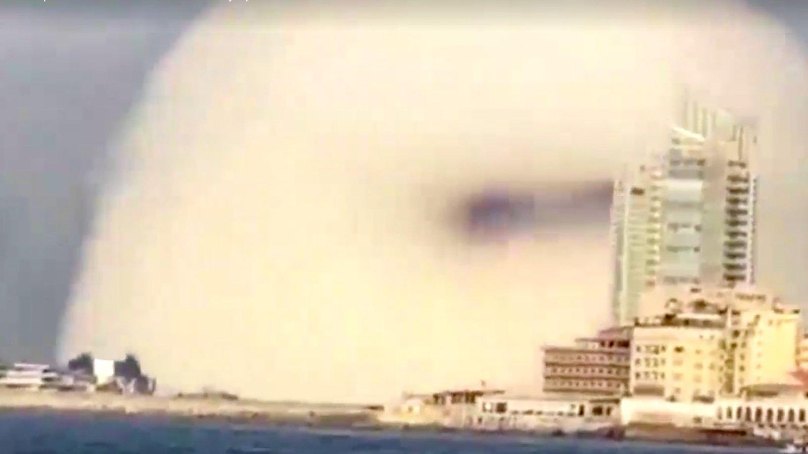 Pourquoi l'explosion à Beyrouth ressemble-t-elle à un champignon nucléaire?  | Agence Science-Presse